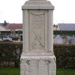Stéle monument Allemand