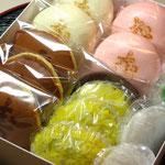 松月堂五色生菓子