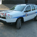 Véhicules prioritaires police