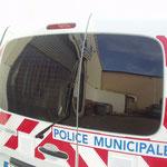 Véhicules prioritaires police / vitres teintées anti-agression