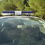 Véhicules prioritaires police / rampe lumineuse