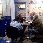 The ECUTEC booth was quite active throughout the show.