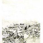 7.- Puente de Alcántara,  Puntaseca y aguatinta, mancha 32 x 24,5 cm., soporte 49 x 38 cm.