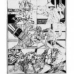 11.- Coplas a la Muerte de su Padre (XI), Puntaseca y Buril, mancha 47 x 36,5 cm., soporte 48,5 x 37,5 cm.