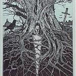 4.- El Testamento de Don Quijote (IV), Xilografía y puntaseca, mancha 31,5 x 23,5 cm., soporte 38 x 27,5 cm.