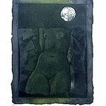 5.- Sonetos Amorosos (V), Aguafuerte, 38 x 30 cm., soporte 48,5 x 38 cm.