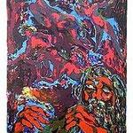 10.- Poemas Metafísicos,  Litografía, mancha 45,5 x 36 cm., soporte 48,5 x 38 cm.