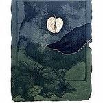 9.- Sonetos Amorosos (IX), Aguafuerte, 40 x 31 cm., soporte 48,5 x 38 cm.