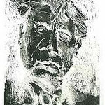 1.- Prefacio. Retrato de Altolaguirre,  Aguafuerte y aguatinta, mancha 32 x 24,5 cm., soporte 48,5 x 38 cm.