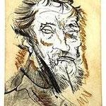 2.- Miguel Ángel, Puntaseca y aguatinta, mancha 32 x 24,5 cm., soporte 50,5 x 38 cm.