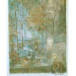 1.- Introducción, Litografía, mancha 38 x 49 cm., soporte 38 x 49 cm.