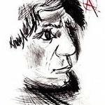 4.- Picasso Joven, Puntaseca y aguatinta, mancha 32 x 24,5 cm., soporte 50,5 x 38 cm.