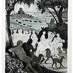 1.- Soledad Primera, Introducción, Aguafuerte y aguatinta, 32,5 x 24,5 cm., soporte 49 x 38 cm.