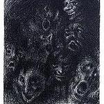 8.- Expresionismo (VIII), Aguafuerte, 19,5 x 14,5 cm., soporte 37,5 x 27,5 cm.