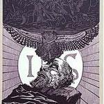 12.- El Testamento de Don Quijote (XII), Xilografía y puntaseca, mancha 31,5 x 23,5 cm., soporte 38 x 27,5 cm.
