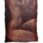 2.- Sonetos Amorosos (II), Aguafuerte, 38 x 30 cm., soporte 48,5 x 38 cm.