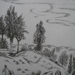 10.- Envío, Litografía, mancha 50 x 37,5 cm., soporte 50 x 37.5 cm.