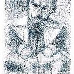 3.- Realismo (III), Aguafuerte, 19,5 x 14,5 cm., soporte 37,5 x 27,5 cm.