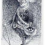 4.- Expresionismo (IV), Aguafuerte, 19,5 x 14,5 cm., soporte 37,5 x 27,5 cm.