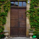 porte d'entrée de la villa hadrien