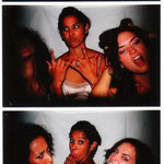 Diamandi, Arti, and Leslie. Photobooth fun!