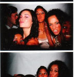 Leslie, Arti, and Diamandi. Photobooth fun!