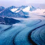 Alaska, USA: Über der Glacier Bay