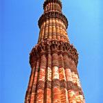 New Delhi, Indien: Q'tab Minar