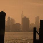 New York, USA: Blick über den Hudson River