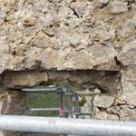 Lundi 17 mai - 1ère réunion de chantier - reprise des linteaux
