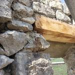Lundi 31 mai - 2ème réunion de chantier - pose des linteaux