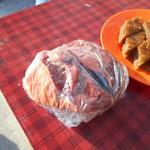 Fleisch und Baklava