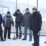 Noch blicken sie skeptisch - schlussendlich aber waren sie die klaren Sieger: Gregor, Hans, Schurli, Matzi und Uli