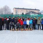 31 Stockschützen hatten sich zum TCK-Birnstöckl'n am Kirchdorfer Eislaufplatz eingefunden