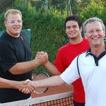 Jedermann Doppel: Flo & Rudi gegen Edi & Philipp