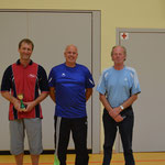 von links: 1. Frank Schulz, 2. Michael Sauer, 4. Wilfried Belger