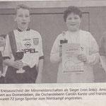 Arnold Ernst Mini Meisterschaften