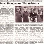 Dana Heinemann Julian Giese Landesmeisterschaften