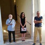 Pino Bonanno, Francesca Boncompagni, Bürgermeister Alviano
