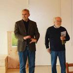 Eröffnung durch Raffaele Baldoni (Il Collaccio) und Prof. Pino Bonanno
