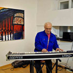 Vernissage, musikalische Gestaltung: Günther Fessl