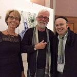 Anneke Hodel-Onstein, Michael Oberlik und der Organist Michael Koller