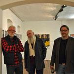 Michael Oberlik, Ernst Hager und Wolfgang Quast