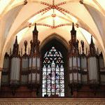 unsere schöne Orgel      Foto: Bernadette FS