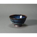 白岩焼和兵衛窯 海鼠釉飯茶碗