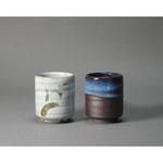 白岩焼和兵衛窯 筒型湯呑み