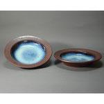 白岩焼和兵衛窯 海鼠釉スープ皿