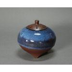 白岩焼和兵衛窯 海鼠釉香炉