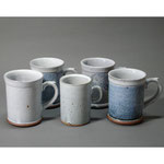 白岩焼和兵衛窯 白釉マグカップ