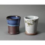 白岩焼和兵衛窯 ビアカップ
